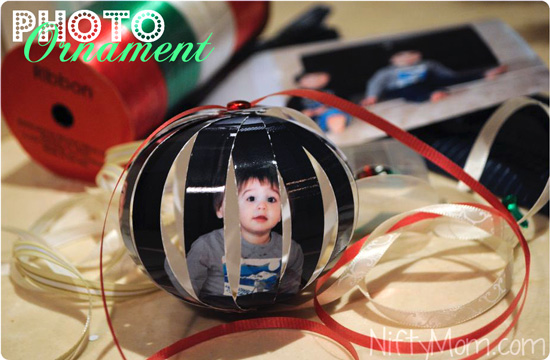 How to Make a Homemade Photo Ornament