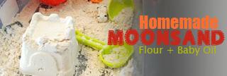 Handmade Moon Sand