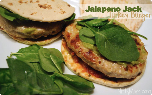 Jalapeno Jack Turkey Burger Recipe