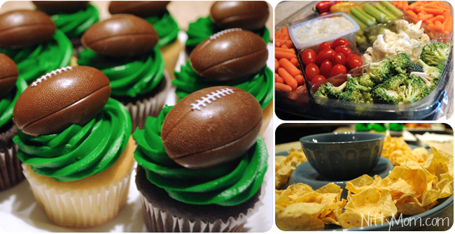 Foods to have at a Football Party #MealsTogether #CBias