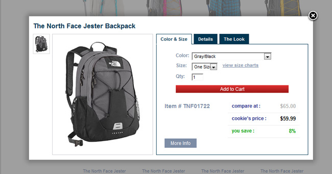 NorthFace Backpack on #CookiesKids #CBias