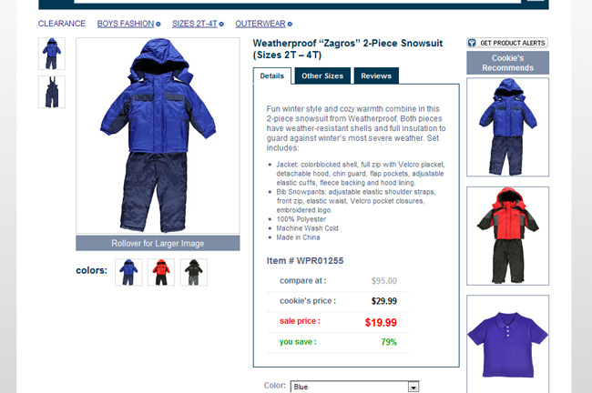 Weatherproof Snowsuit on #CookiesKids #CBias