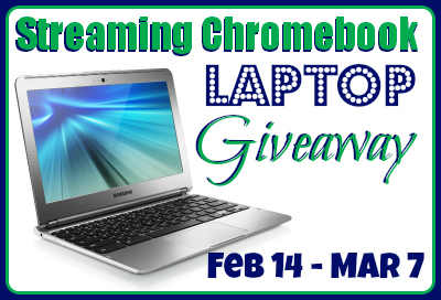 ChromeBook Laptop Sweepstake