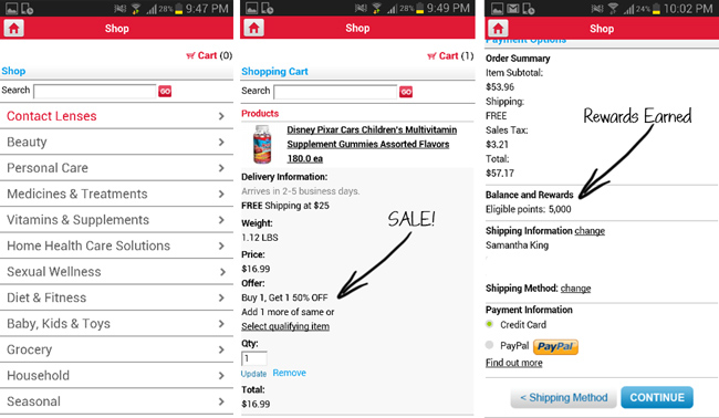 How Easy it is to Shop via the Walgreens App #CBias #HappyHealthy