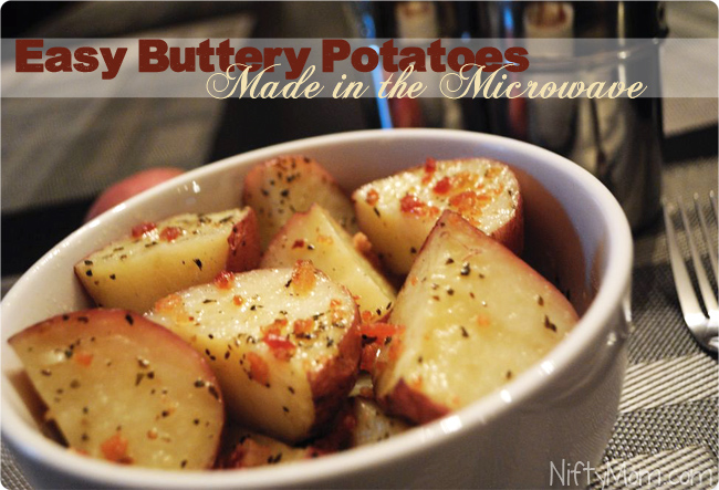 How to Make Potatoes in the Microwave in 10 Minutes