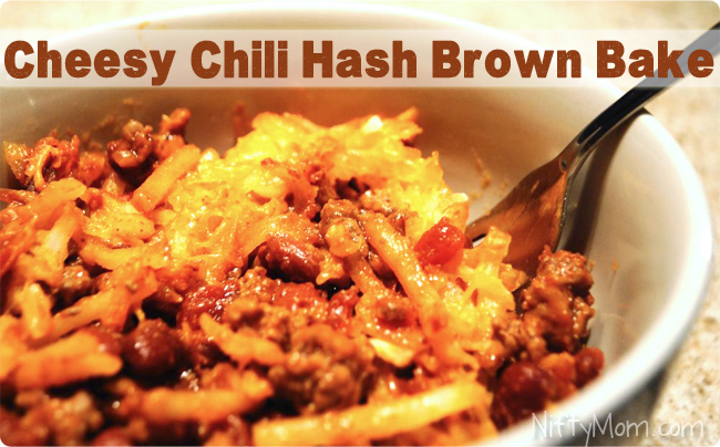 Easy Cheesy Chili Hash Brown Recipe