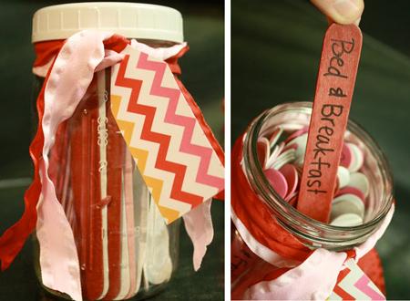 DIY Valentine's Day Gift Date Night Jar