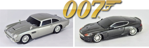 James Bond RC Cars