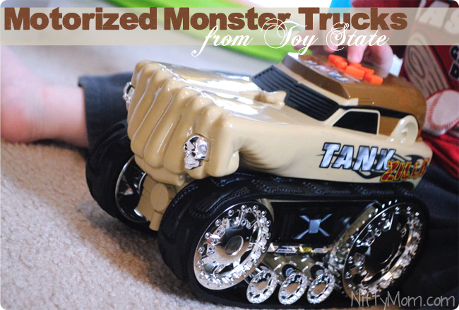Monster Trucks from Toy State