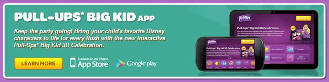 Pull-Ups Big Kid App