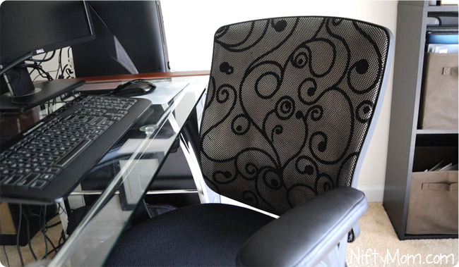 Mid-Back Swivel Swirl Mesh Chair