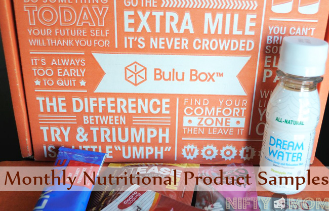 Bulu Box Monthly Nutritional Product Samples