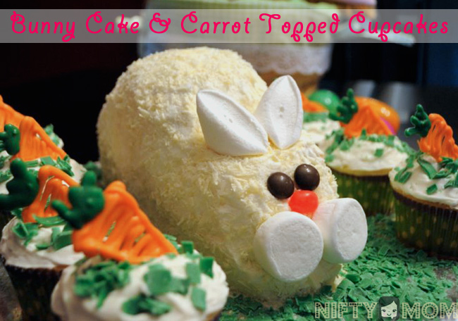 How to Make a Stand Up Easter Bunny Cake Recipe