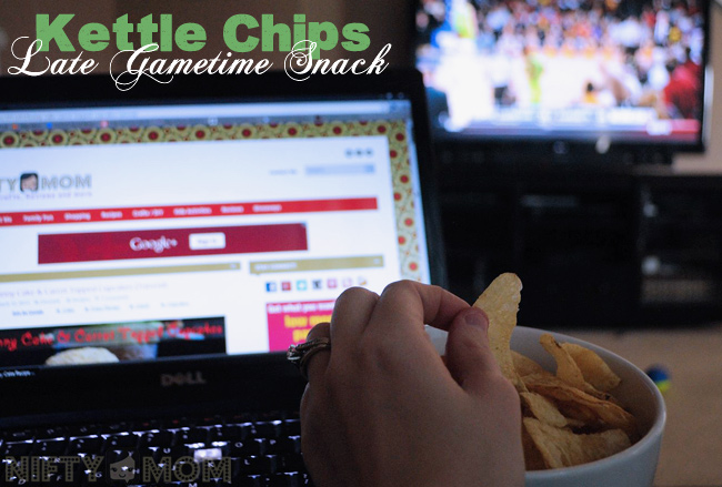 Winding Down with College Hoops and Kettle Chips #KettleMadness #CBias