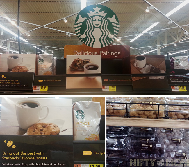 Starbucks Delicious Pairings Display at Walmart #cbias #deliciouspairings