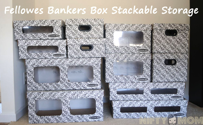 Bankers Box Stackable Storage Giveaway