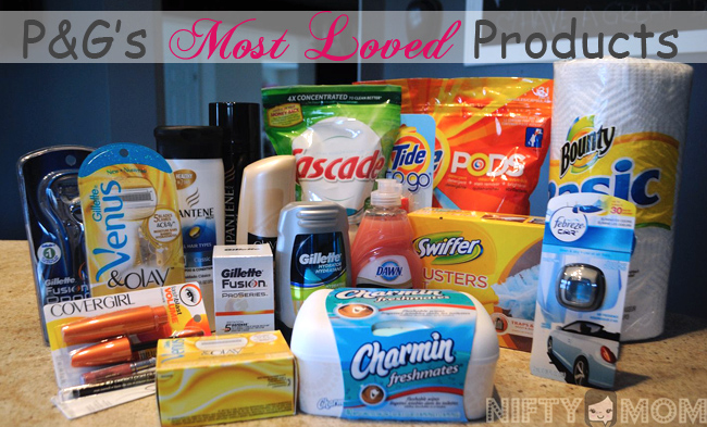 Proctor & Gamble's Most Popular Products