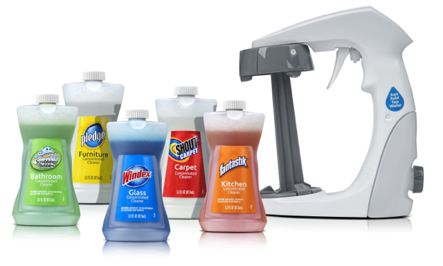 Smart Twist Cleaning System and Aailable Cleaning Cartridges