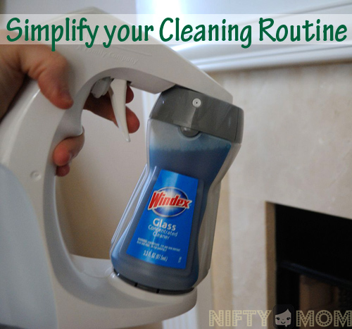 Simplify You Cleaning Routine with the Smart Twist Cleaning System - 3 Cleaners, 1 Sprayer