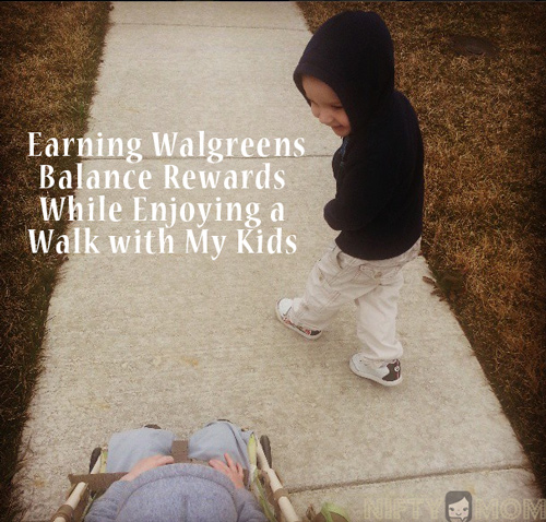 Earn Walgreens Balance Rewards Points with Steps #BalanceRewards #cbias