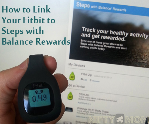 How to Link My Fitbit to Steps with Balance Rewards #BalanceRewards #cbias