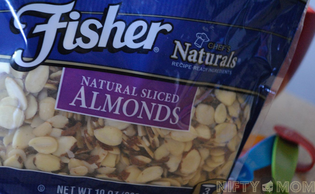 Cooking with Fisher Nuts