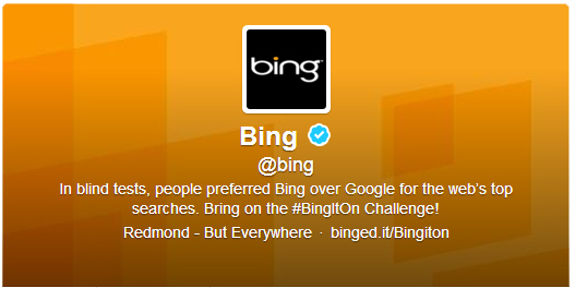 Bing Twitter Party