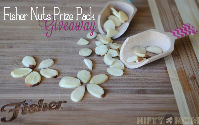 Fisher Nuts Prize Pack Giveaway