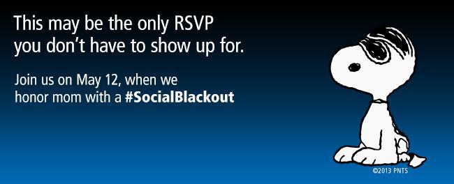 #SocialBlackout May 12