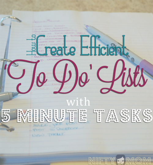 Tips for Creating 'To Do' Lists