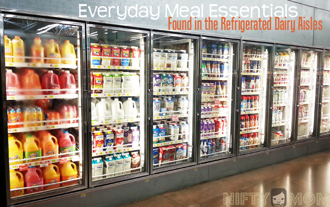 Everyday Meal Essentials in the Dairy Aisles