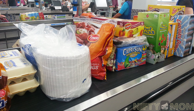 Shopping at Sam's Club #MealsTogether #cbias