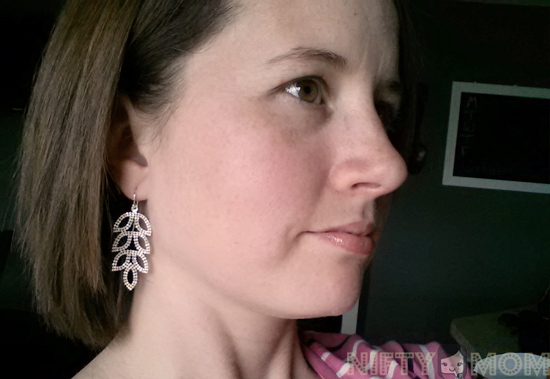 Blue Nile Leaf Chandelier Earrings