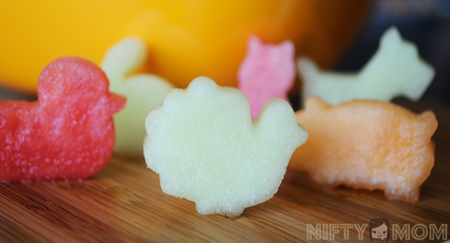 Mini Animal Cookie Cutters for Fruit
