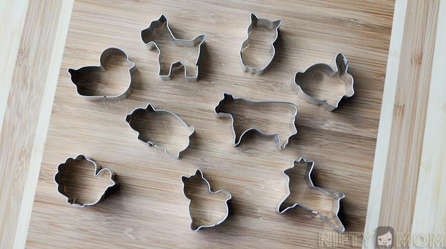 Mini Animal Cookie Cutters