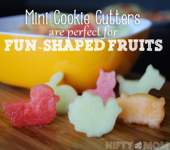 Mini Cookie Cutter are Perfect for Fun-Shaped Fruits + List of Different Cookie Cutter Themes