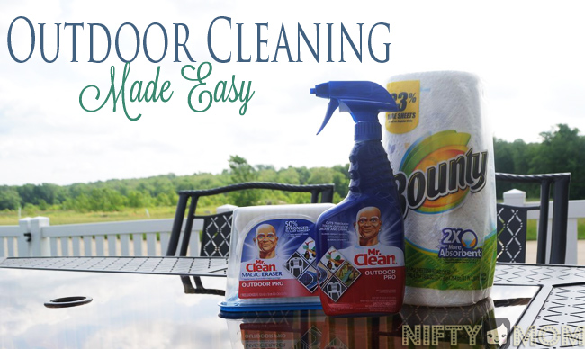 Outdoor Cleaning Tips #ReadyDoneClean