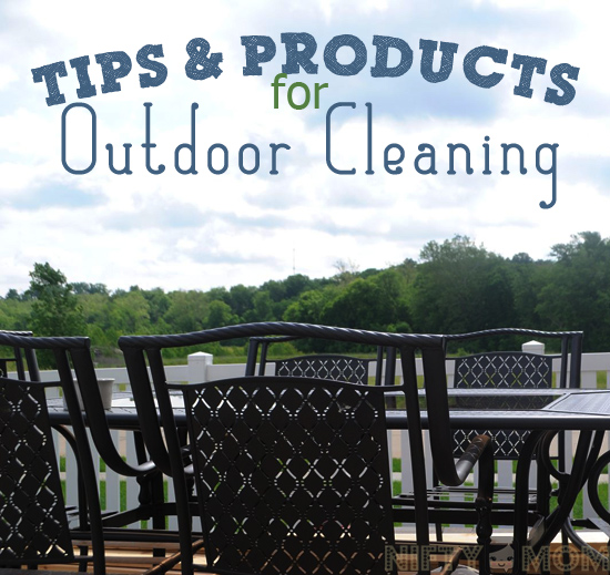 Outdoor Cleaning Tips and Products