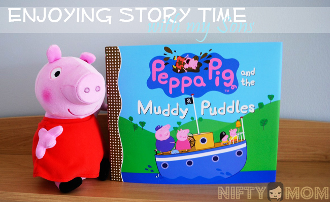 Pegga Pig and the Muddy Puddles Hardback Book Review