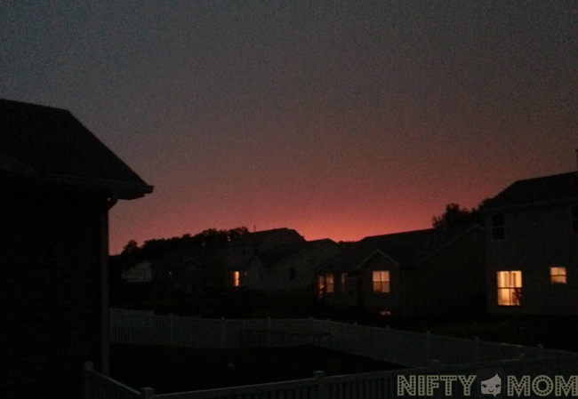 Sunset after the Storm  #STLStorms #STLWeather