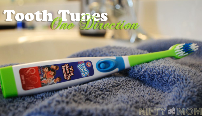 Tooth Tunes One Direction Toothbrush Review #ToothTunes1D