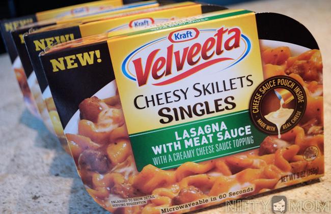 Velveeta Cheesy Skillets Singles #PersonalFeast #cbias #shop