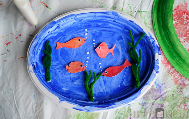 3D Fish Tank Craft
