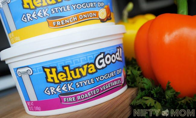 The New Heluva Good! Greek Style Yogurt Dips #HVGgoesGreek