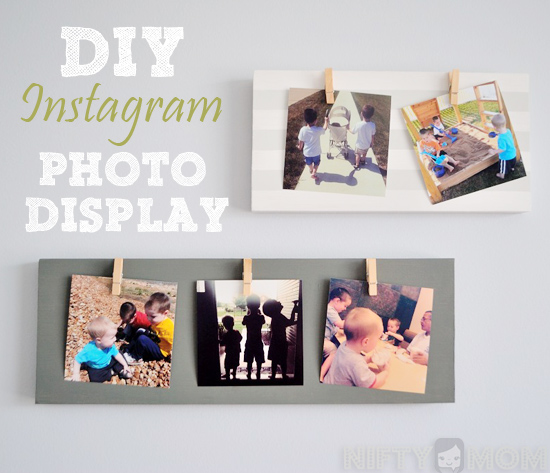 DIY Instagram Photo Display #WalgreensApp #cbias #shop