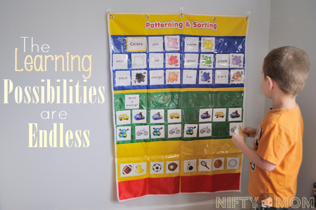 Oriental Trading Patterning and Sorting Pocket Chart