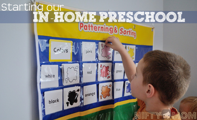 Starting an In-Home Preschool