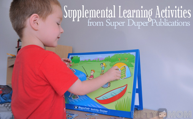 Supplemental Learning Activities from Super Duper