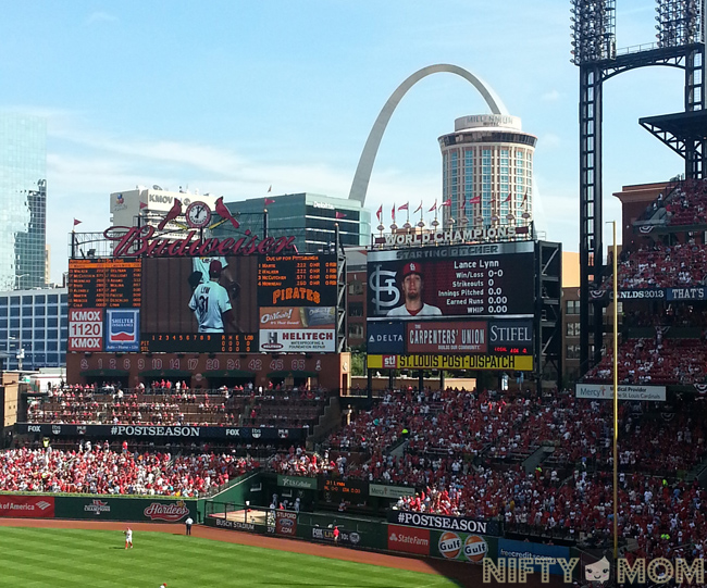 Post Season Cards at Busch Stadium