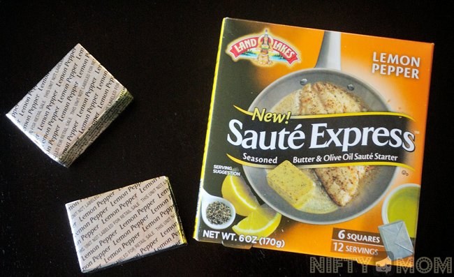 Land O'Lakes Sauté Express® Sauté Starter Lemon Pepper #SauteExpress #Shop
